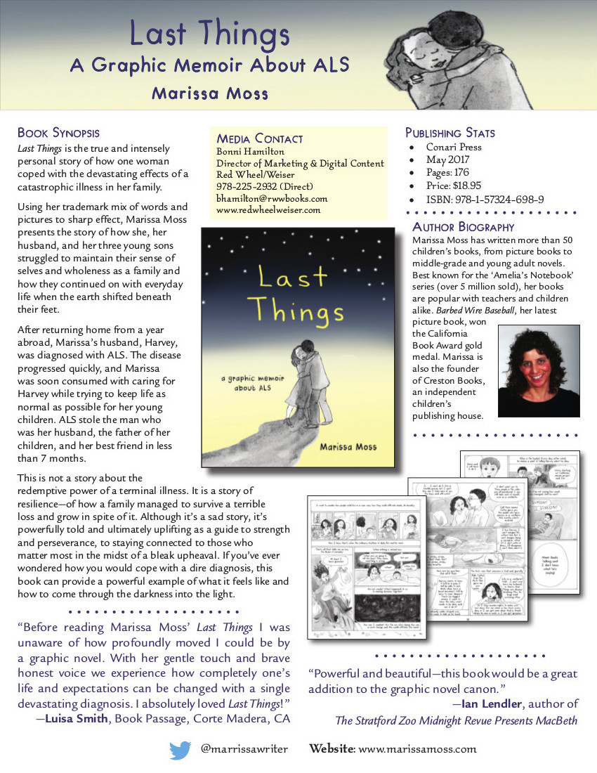 Last Things: A Graphic Memoir