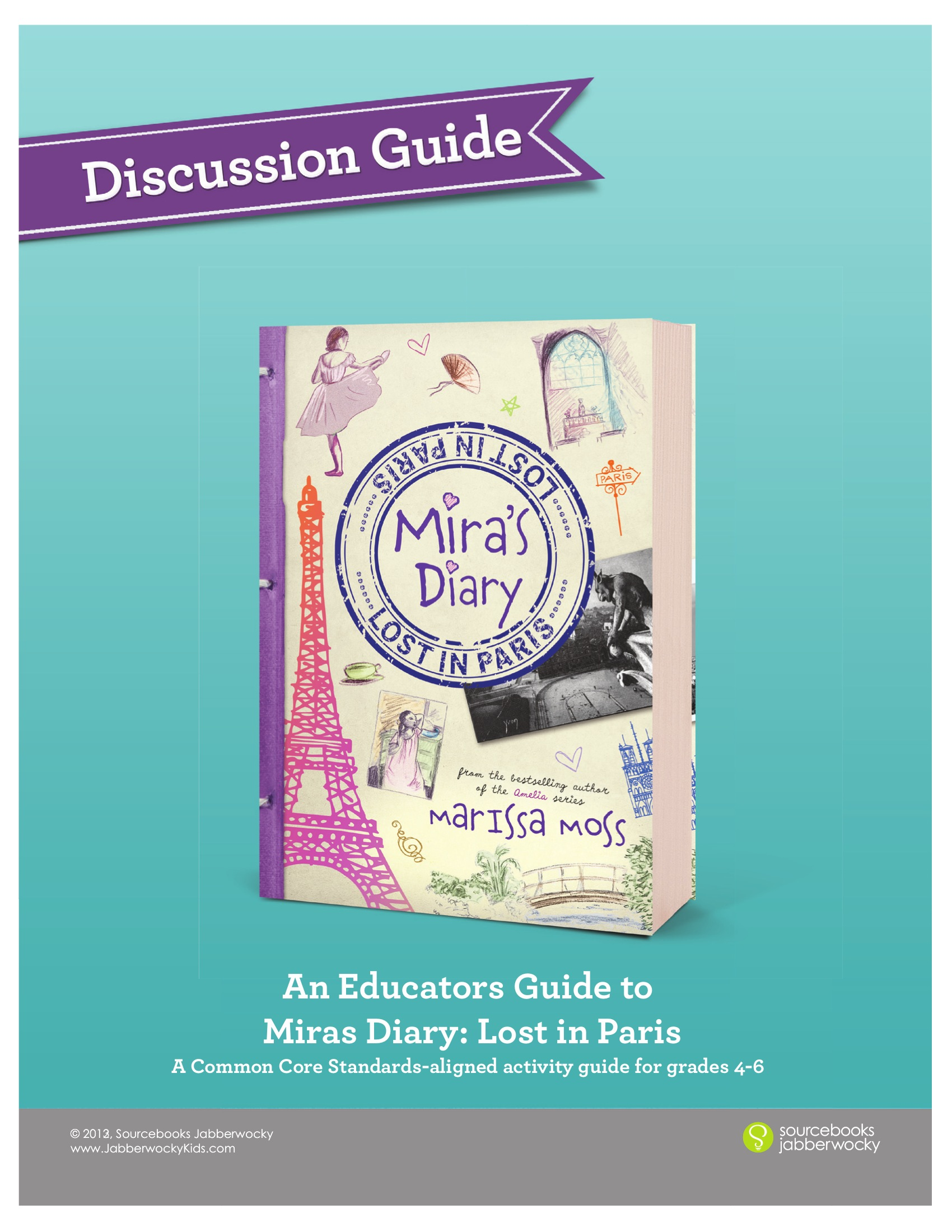 Educators Discussion Guide to Mira Lost in Paris